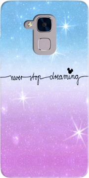 Never Stop dreaming Case for Huawei Honor 5C / HUAWEI GT3 / Honor 7 Lite