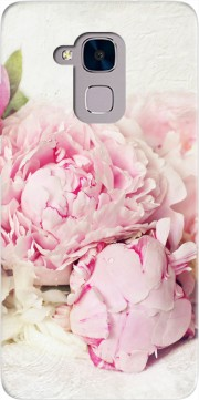 peonies on white Case for Huawei Honor 5C / HUAWEI GT3 / Honor 7 Lite