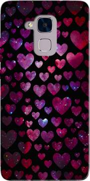 Space Hearts Case for Huawei Honor 5C / HUAWEI GT3 / Honor 7 Lite
