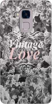 Vintage love in black and white Case for Huawei Honor 5C / HUAWEI GT3 / Honor 7 Lite