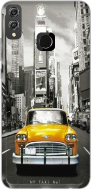 Yellow taxi City of New York City Case for Honor 8x