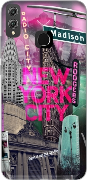 New York City II [pink] Case for Honor 8x