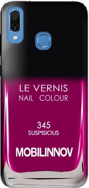 Nail Polish 345 SUSPISIOUS Case for Honor Play Cor-L29