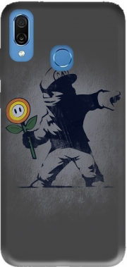 Banksy Flower bomb Case for Honor Play Cor-L29