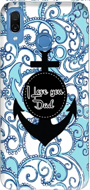 Blue Water - I love you Dad Case for Honor Play Cor-L29