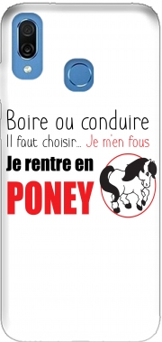 Boire ou conduire Je men fous je rentre en Poney Honor Play Cor-L29 Case