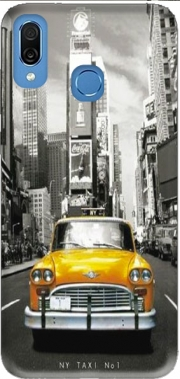 Yellow taxi City of New York City Case for Honor Play Cor-L29