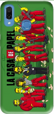 Casa de papel mashup Simpson Honor Play Cor-L29 Case