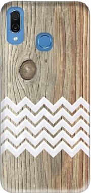 Chevron on wood Case for Honor Play Cor-L29