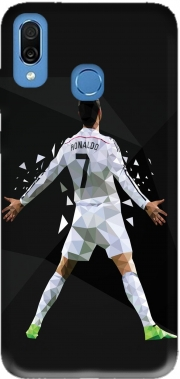 Cristiano Ronaldo Celebration Piouuu GOAL Abstract ART Case for Honor Play Cor-L29