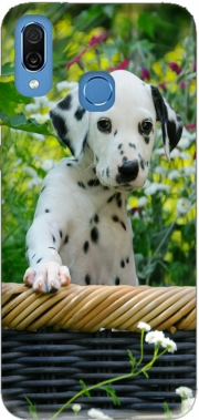 Cute Dalmatian puppy in a basket  Case for Honor Play Cor-L29