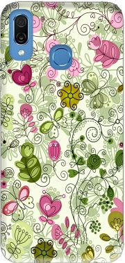 doodle flowers Case for Honor Play Cor-L29