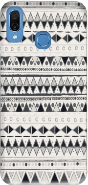 Ethnic Candy Tribal in Black and White Case for Honor Play Cor-L29
