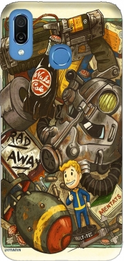 Fallout Painting Nuka Coca Case for Honor Play Cor-L29