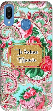 Floral Old Tissue - Je t'aime Mamie Case for Honor Play Cor-L29