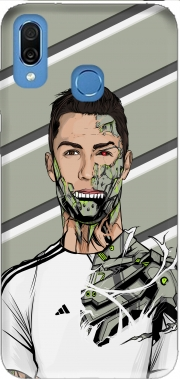 Football Legends: Cristiano Ronaldo - Real Madrid Robot Case for Honor Play Cor-L29