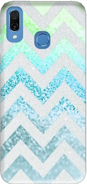 FUNKY CHEVRON BLUE Case for Honor Play Cor-L29