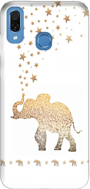 Gatsby Gold Glitter Elephant Case for Honor Play Cor-L29