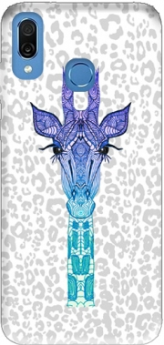 Giraffe Purple Case for Honor Play Cor-L29