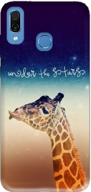 Giraffe Love - Right Case for Honor Play Cor-L29
