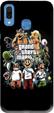 Grand Theft Mario Case for Honor Play Cor-L29