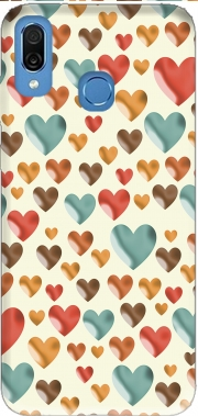 Hearts Case for Honor Play Cor-L29