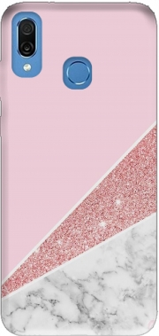 Initiale Marble and Glitter Pink Case for Honor Play Cor-L29