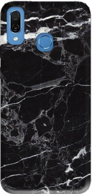 Initiale Marble Black Elegance Case for Honor Play Cor-L29