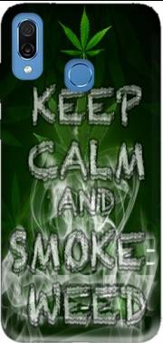 Keep Calm And Smoke Weed Case for Honor Play Cor-L29