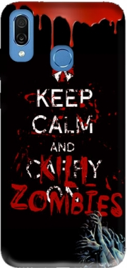 Keep Calm And Kill Zombies Case for Honor Play Cor-L29