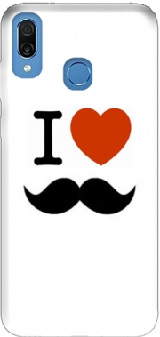I love Moustache Case for Honor Play Cor-L29