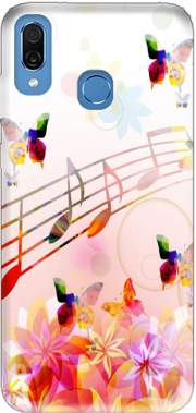 Musical Notes Butterflies Case for Honor Play Cor-L29