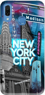 New York City II [blue] Case for Honor Play Cor-L29