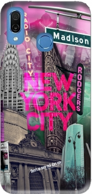 New York City II [pink] Case for Honor Play Cor-L29