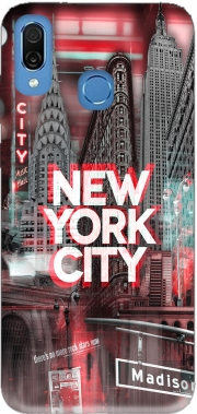 New York City II [red] Case for Honor Play Cor-L29