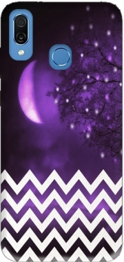 Purple moon chevron Case for Honor Play Cor-L29