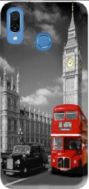 Red bus of London with Big Ben Case for Honor Play Cor-L29
