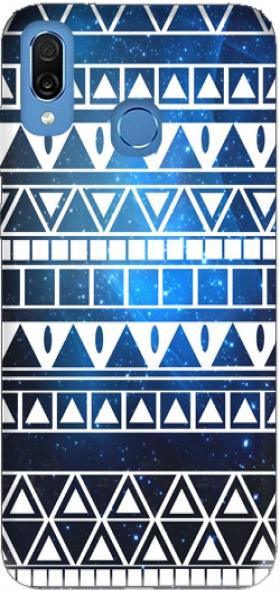 Case Tribal Aztec Pattern Blue for Honor Play Cor-L29