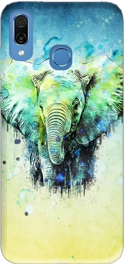 watercolor elephant Case for Honor Play Cor-L29