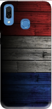 Wooden French Flag Case for Honor Play Cor-L29