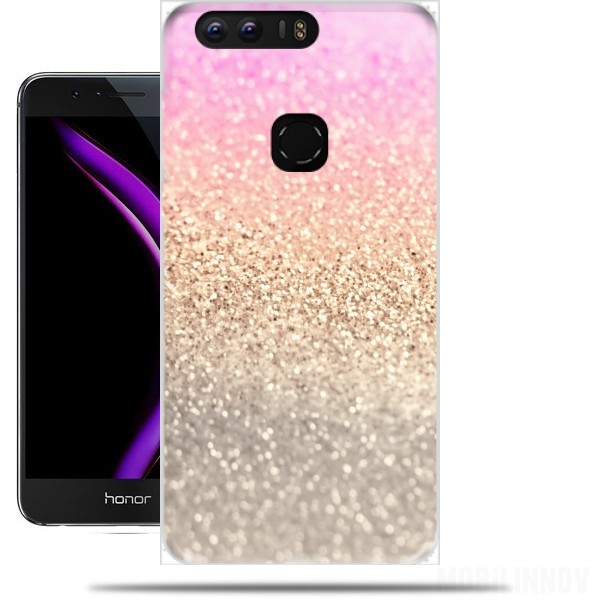 finest selection dfedd 7db19 Gatsby Glitter Pink case for Huawei honor 8
