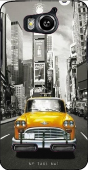 Yellow taxi City of New York City Case for Huawei Ascend G600 u8950