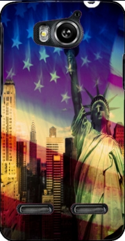 Statue of Liberty Case for Huawei Ascend G600 u8950
