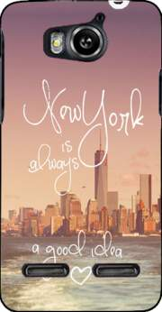 Always New York Case for Huawei Ascend G600 u8950