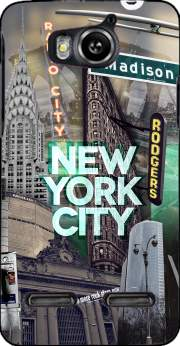 New York City II [green] Case for Huawei Ascend G600 u8950