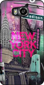 New York City II [pink] Case for Huawei Ascend G600 u8950