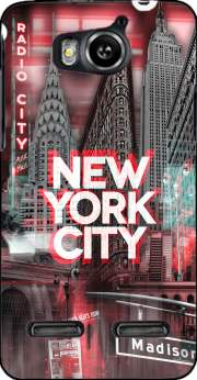 New York City II [red] Case for Huawei Ascend G600 u8950