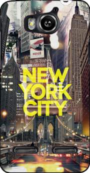 New York City II [yellow] Case for Huawei Ascend G600 u8950