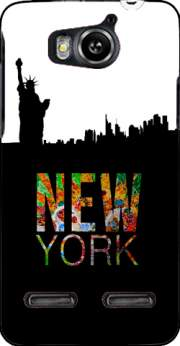 New York Case for Huawei Ascend G600 u8950