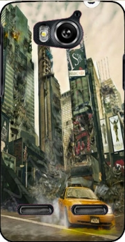 New York apocalyptic Case for Huawei Ascend G600 u8950